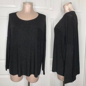 Eileen Fisher Pullover Gray Top Sz Petite S